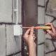 Installazione interruttore elettrico